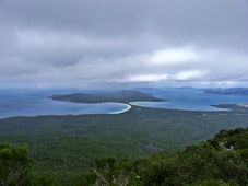 From Mt Maria - the Isthmus